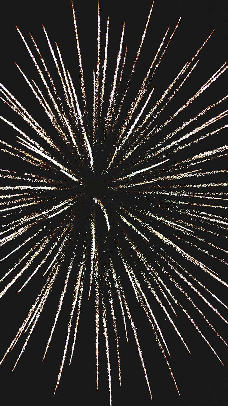 Sparkly Fireworks iPhone Wallpaper Collection | Preppy Wallpapers