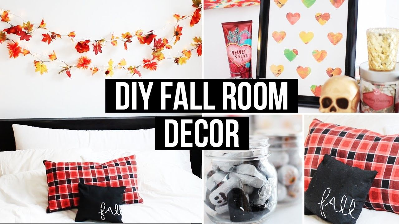 Diy Fall Room Decor Affordable Cozy Med Bilder