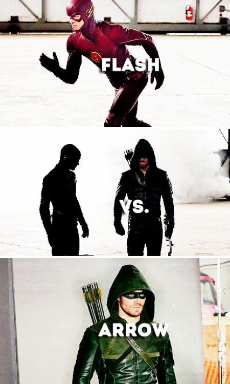 Arrow vs The Flash