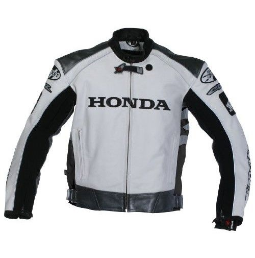 Honda Fascinating Bike Leather Jacket For Men Motorbike Jackets