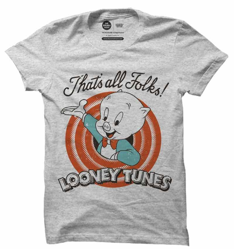 e05423ed Looney Tunes : That's all folks | Buy Official Looney Tunes T-Shirts Online  | The Souled Store