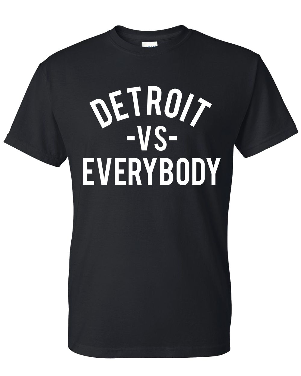 Detroit Vs Everybody Detroit Shirt Detroit Apparel Vs Everybody Detroit Red