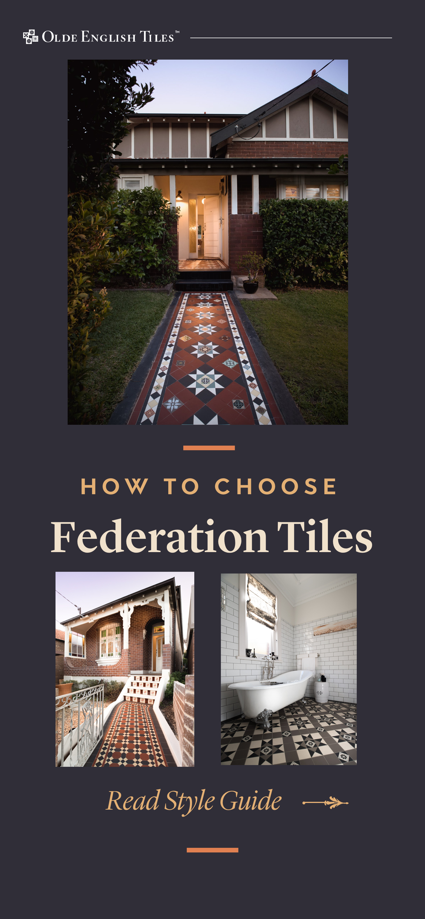 Federation Tiles A How To Guide Exterior house doors