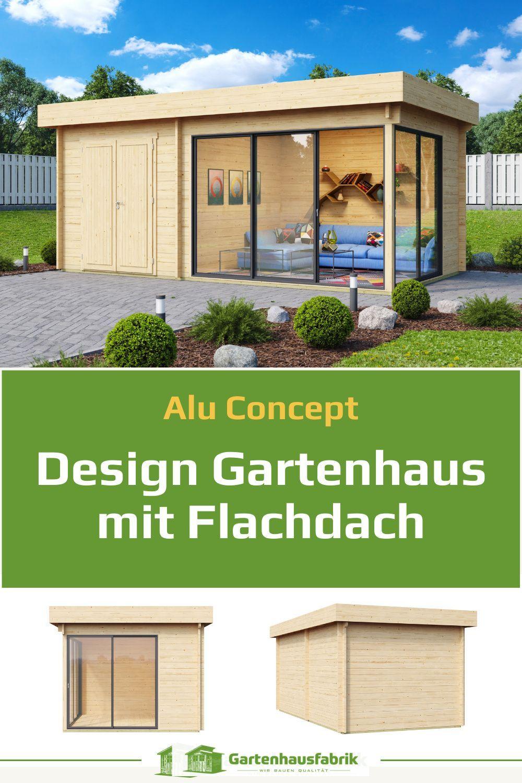 Gartenhaus Mit Aluminium Turen Das Moderne Highlight Im Garten In 2021 Gartenhaus Flachdach Gartenhaus Gartenhaus Selber Bauen