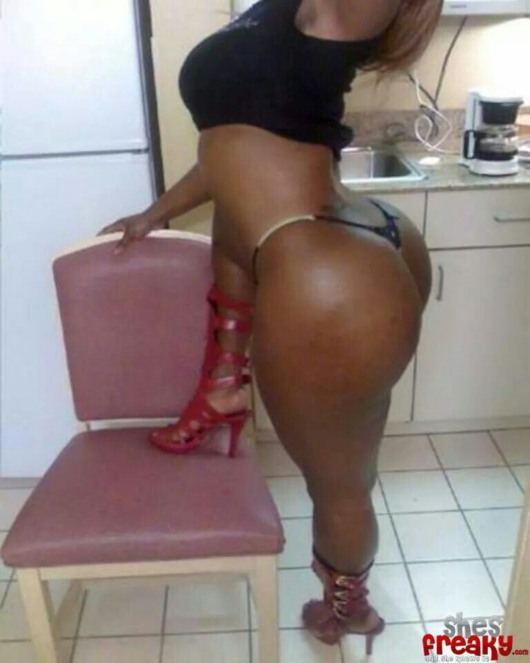 Big Ass Booty Ebony Tranny
