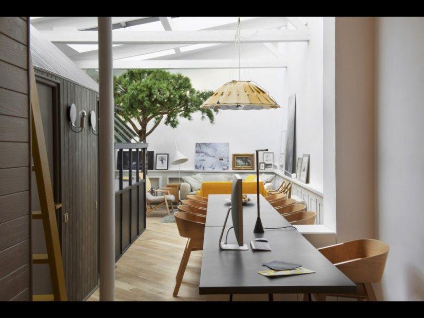 Salle à manger sous verrière - Chez Grégoire De Lafforest - Home