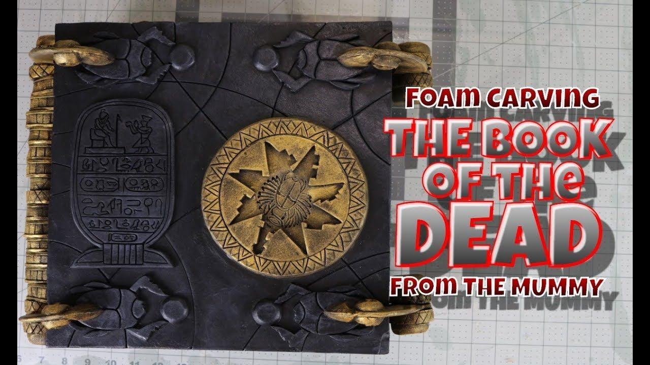 Carving the book of the dead the mummy book of the