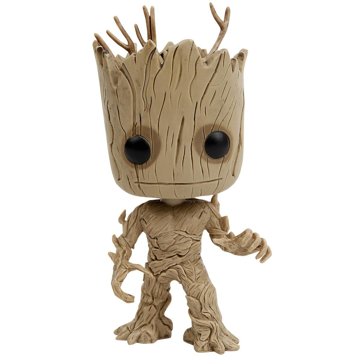 Statuetta decorativa Groot di Guardians Of The Galaxy del brand #Funko collezione Pop!. Altezza: 10 cm circa.