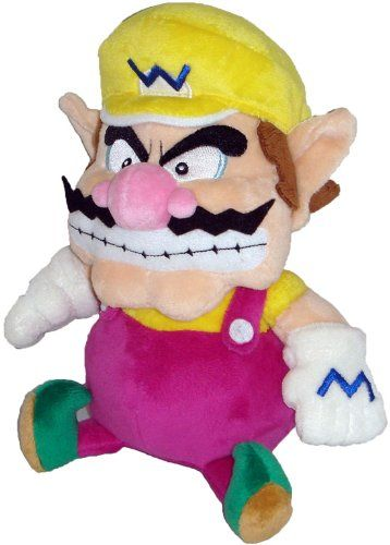 Super Mario Plush 7 Wario Soft Stuffed Plush Toy Japanese