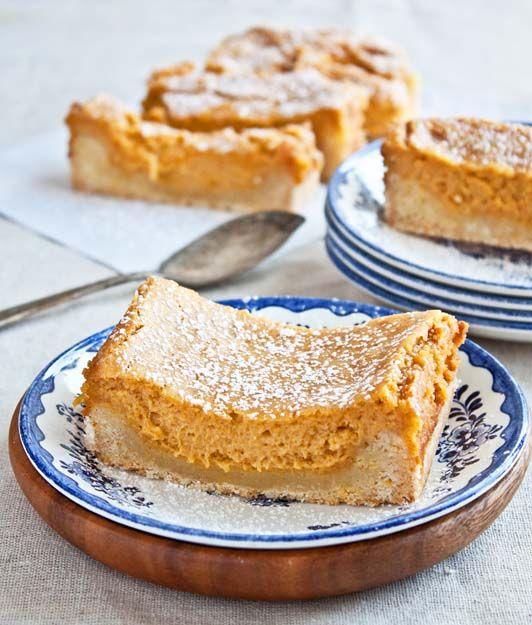Pumpkin Gooey Butter Cake from Dessert for Two