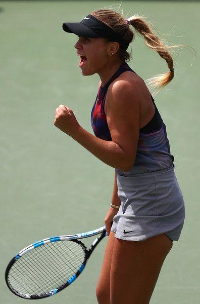 Sofia Kenin Photos Photos 2017 Us Open Tennis Championships Day 1 Tennis Tennis Stars Billie Jean King