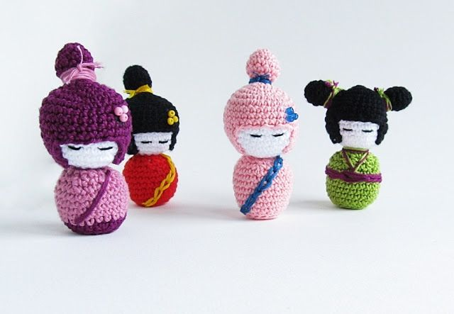 Amigurumi Kokeshi Doll Pattern : Little things blogged: {amigurumi kokeshi doll pattern} grandma s