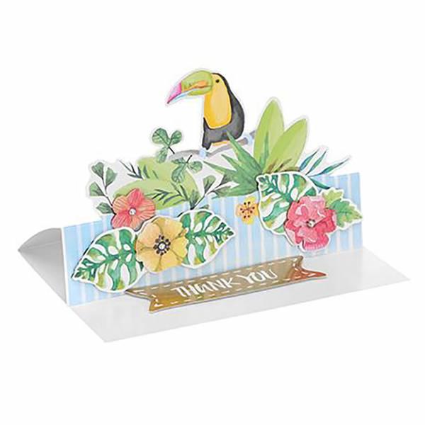 Hediyelik 3D Kart (Kuş Figürlü) - Miniso