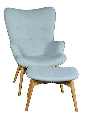 Replica Grant Featherston Contour Chair and Footrest - Light Blue  sc 1 st  Pinterest & Replica Grant Featherston Contour Chair and Footrest - Light Blue ...