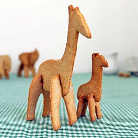 Suck UK SK COOKIESAFARI1 - 3d moldes para galletas safari: Amazon.es: Hogar