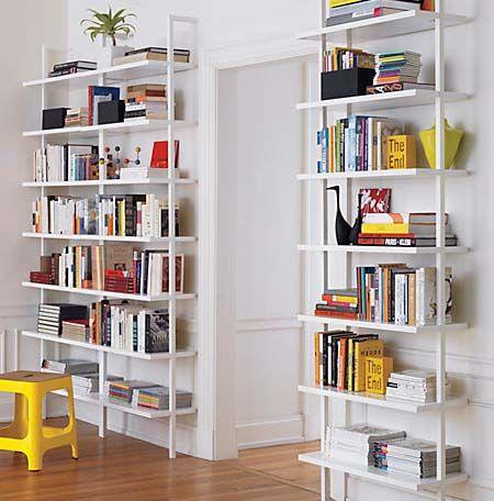 Stairway Wall Mounted Bookcases Via Cb2 Zuhause Diy Haus Deko Weisse Wale