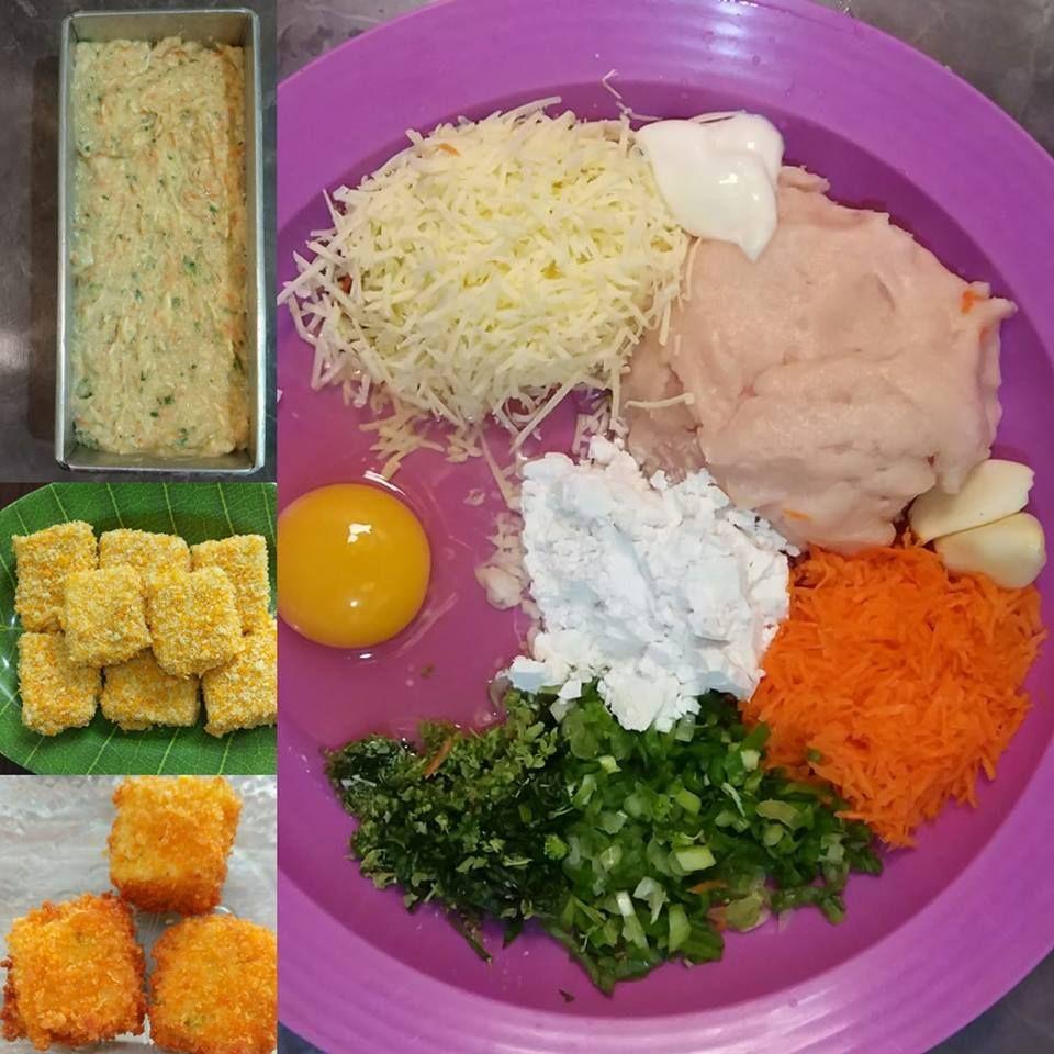 Nugget Ayam Sayur By Eka Supiyanthi Langsungenak Com Resep Resep Resep Masakan Resep Makanan Beku