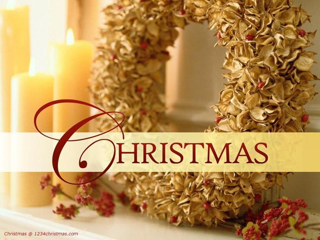 Christmas Wreaths Wallpaper