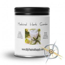 Medicinal Herb Garden Seed Vault
