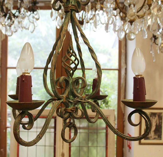 French vintage chandelier french antique hammered lighting wrought french vintage chandelier french antique hammered lighting wrought iron chandelier cast iron iron aloadofball Choice Image