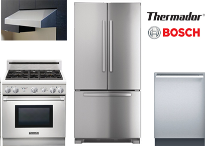 The Best Luxury Stainless Steel Kitchen Appliance Packages ...