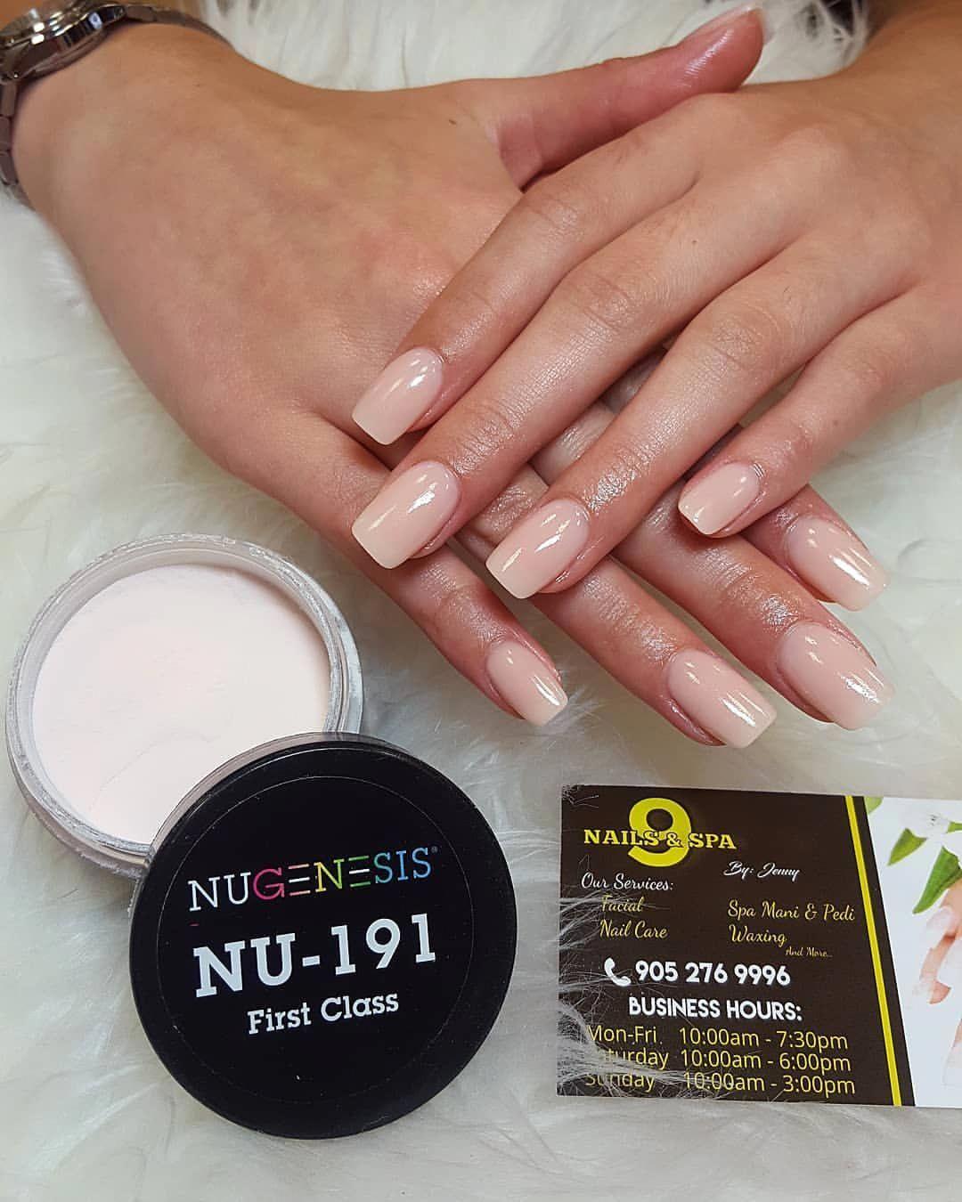 Nugenesis 9nails Spa Nails Nugenesis Dippowdernails Dippowder Mississauga Jennyshopp Salon Or Nail Dipping Powder Colors Sns Nails Colors Dipped Nails