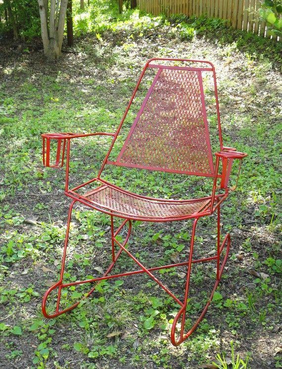 Metal Patio Rocking Chair