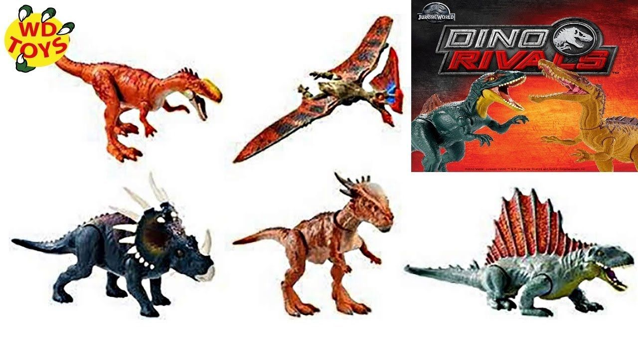 Giocattoli Jurassic World 2018 New Jurassic World Dino Rivals Mattel Dinosaur Toys Fallen Kingdom