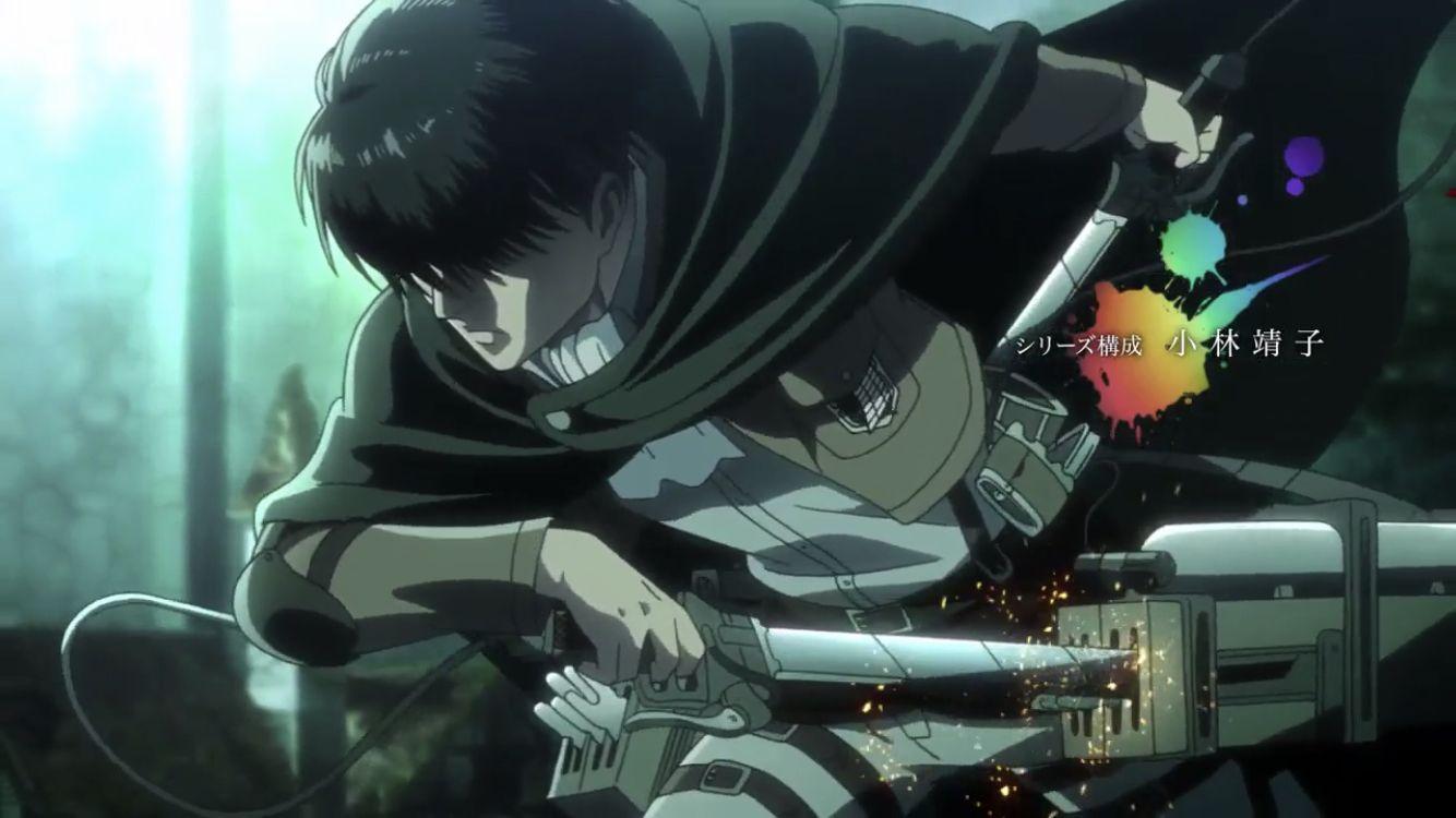 Levi Ackerman Season 3 Part 2 Epic Opening Attack On Titan Levi Levi Ackerman Attack On Titan