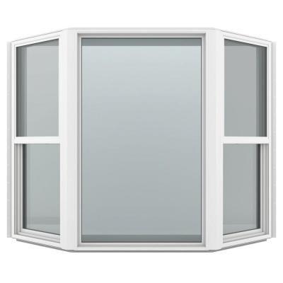 Jeld Wen 73 5 In X 61 In V 4500 Series Bay Vinyl Window White Thdjw139600065 Boho Living Room Home Cottage Windows