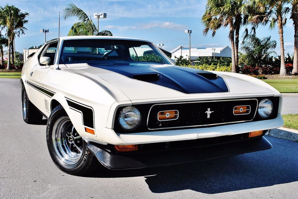 Ebay 1971 Ford Mustang Mach 1 429 Cobra Jet Matching Numbers