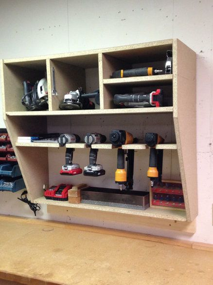 Power Tool Cabinet Garage In 2019 Pinterest Tool Storage