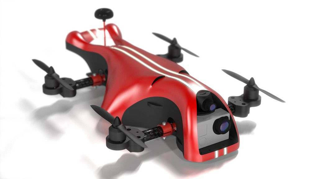 Canopy tilt pro and x8 clearance drone design small