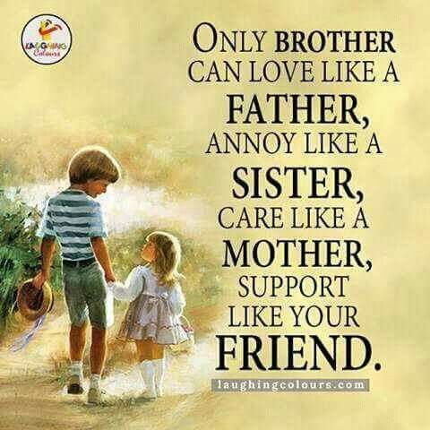 A Brother Is A Best Friend Given By Nature Tag Mention Your Brother Sister Birthday Quotes Sister Quotes Birthday Quotes Inspirational