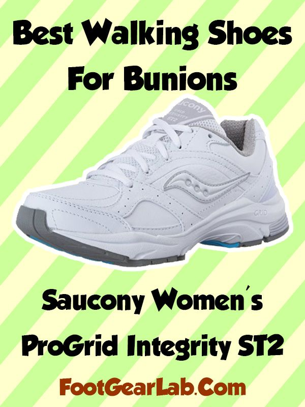 81527e46ee8 Saucony Women s ProGrid Integrity ST2 - Best Walking Shoes For Bunions  Womens -  footgearlab