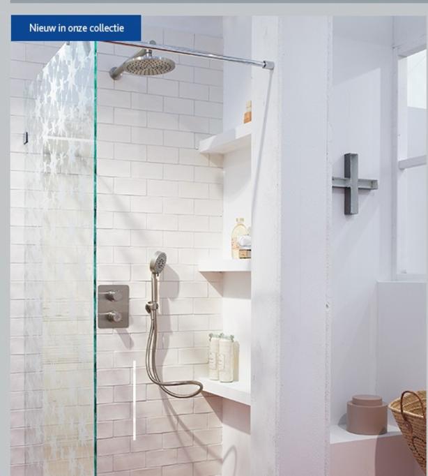 Ariadne badkamer: mooie douche. | Bathroom | Pinterest