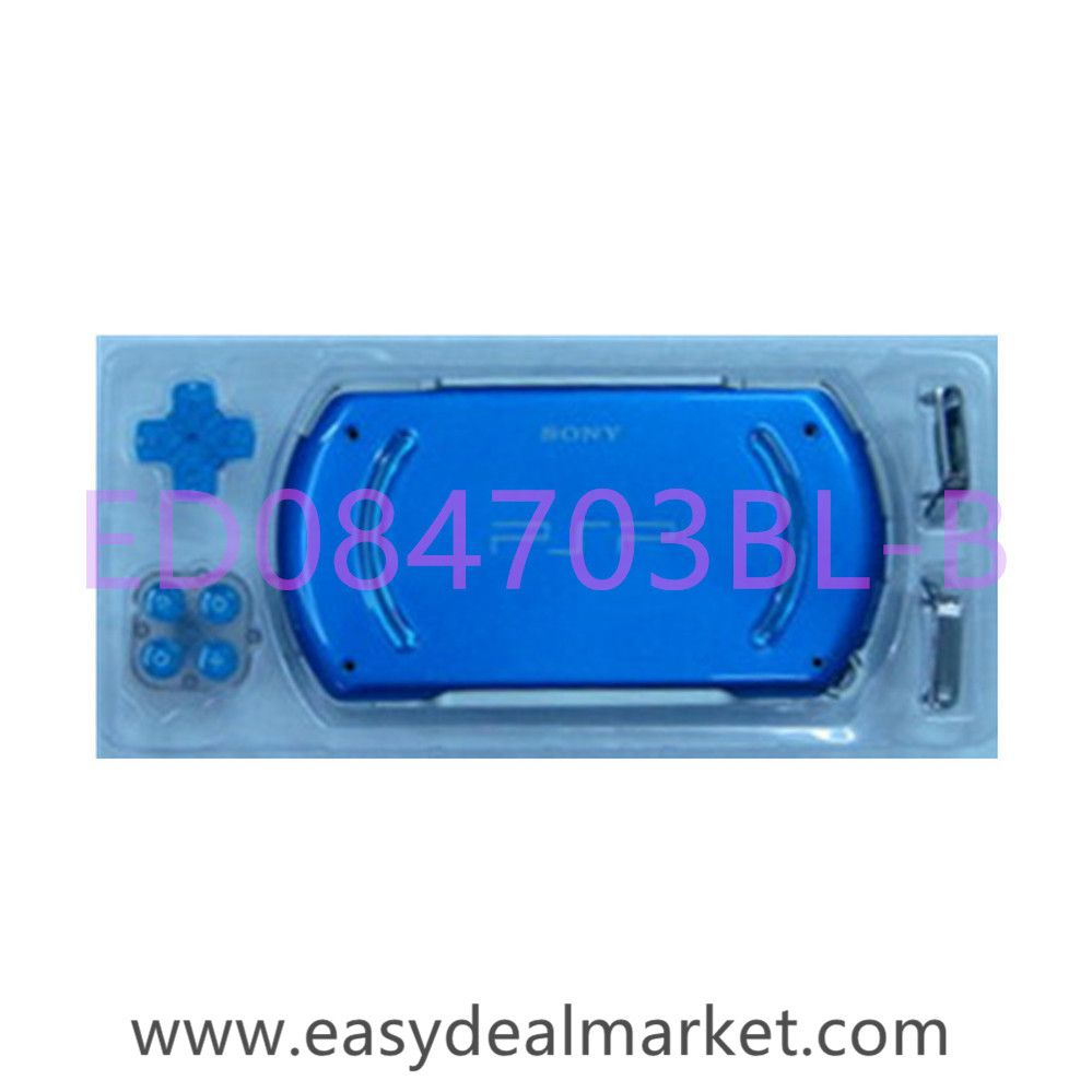 Console Shell Full Kit (Blue) for Sony PlayStaion PSP GO