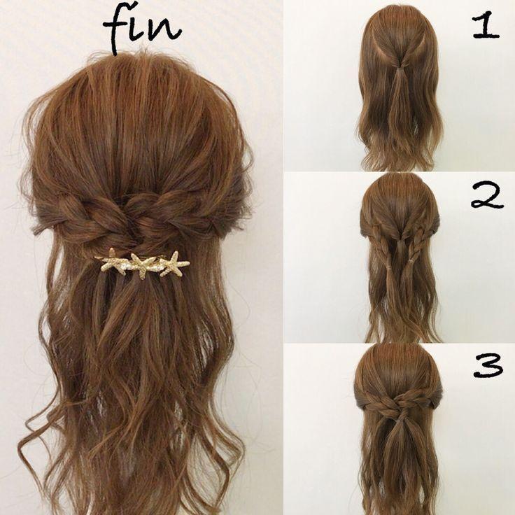 Haar Haar Frisuren Hacks Cheveux Mittellange Haare Frisuren Einfach Geflochtene Frisuren Flechtfrisuren