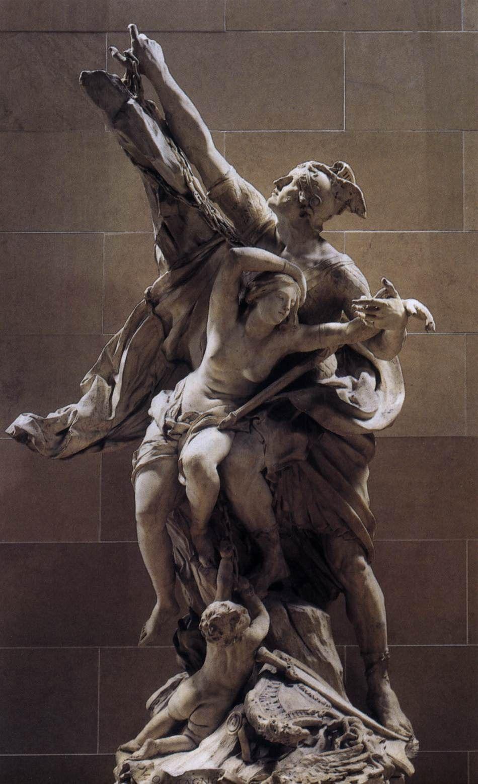 Perseus And Andromeda Pierre Paul Puget Sculpture Art Marble Art