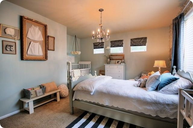 Fantastic ideas for small kids rooms and shared spaces. #bedroom #ideas for #small #rooms