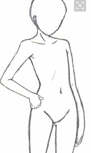 Anime Base Art Reference Poses Drawing Base
