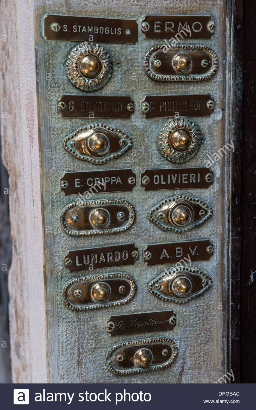 Vintage Apartment Intercom Name Plate Google Search Brass Doorbell Doorbell Vintage Apartment