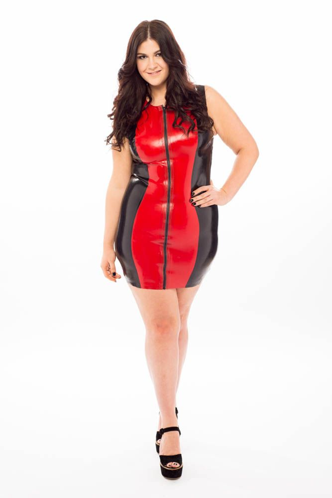 Plus size latex. Show off your curves. | Curvy Leather, Latex & PVC ...