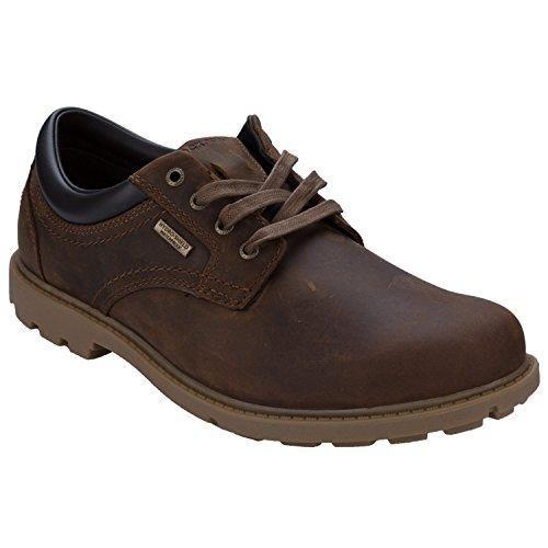 Zapatos marrones con cordones Rockport para hombre 9D9RB8zu