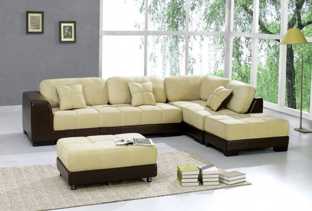 Sensational Kids Room Black Leather Sofa With Cream Cushion With Bench Creativecarmelina Interior Chair Design Creativecarmelinacom