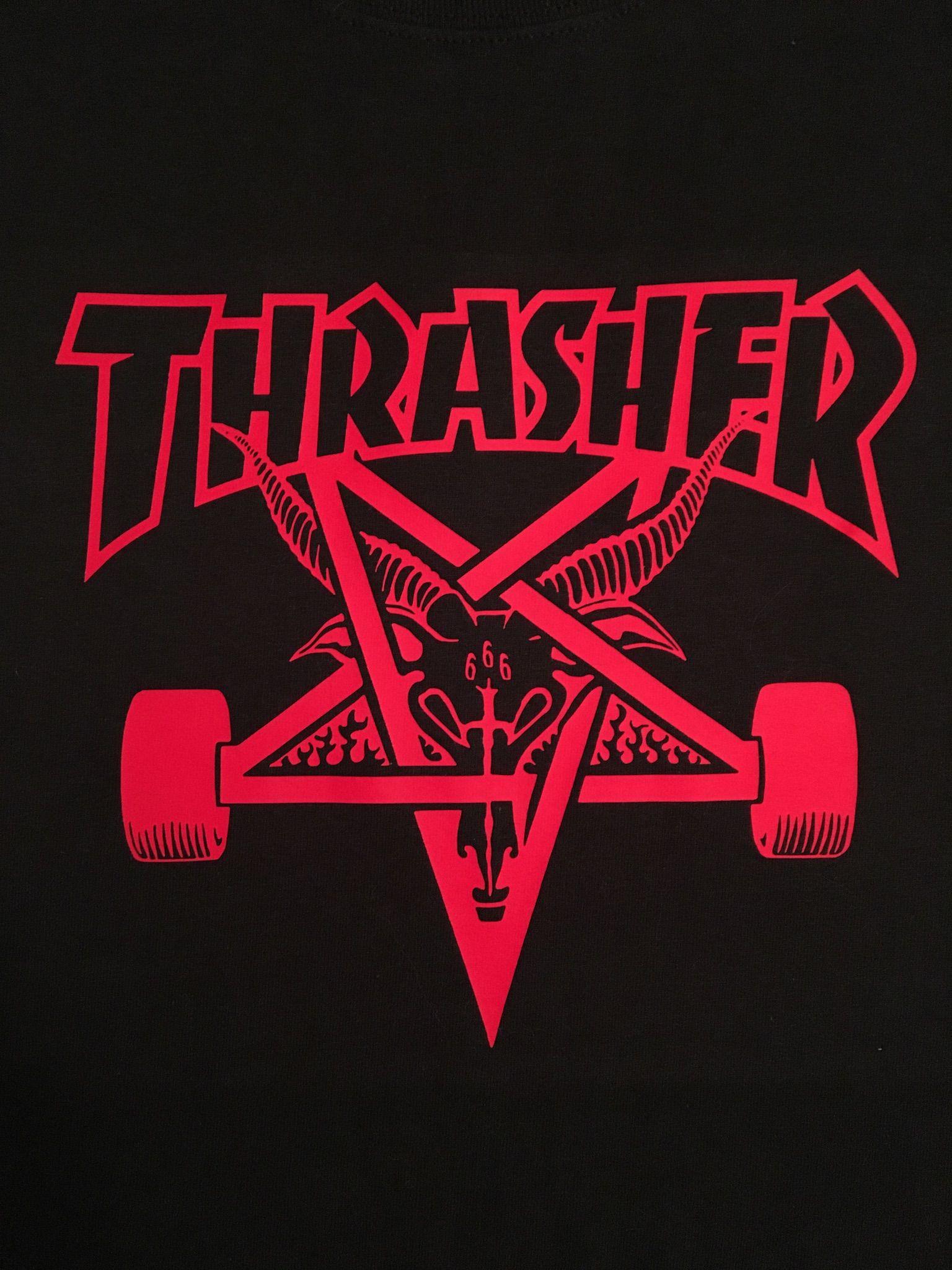 bd60c056 Thrasher Skateboard Magazine, Skate Goat | DIY shirts in 2019 ...