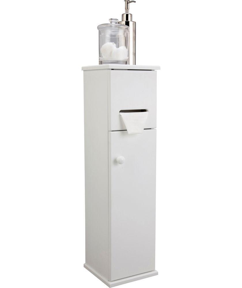 buy bathroom tidy storage cupboard white at. Black Bedroom Furniture Sets. Home Design Ideas