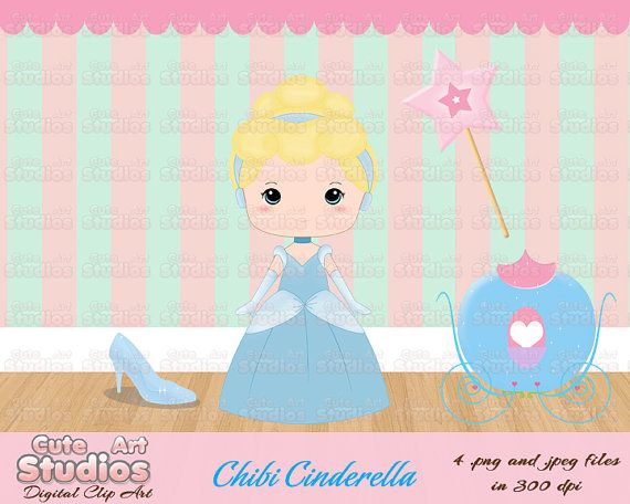 Chibi Princess Clip Art2 by CuteArtStudios on Etsy, $4.50