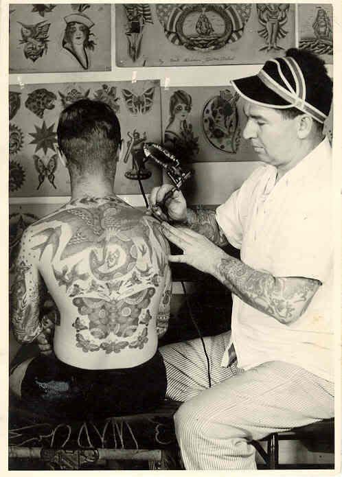 Obi Kenobii Bert Grimm 1900 1985 American Tattoo Artist Vintage Tattoo Vintage Style Tattoos Bert Grimm