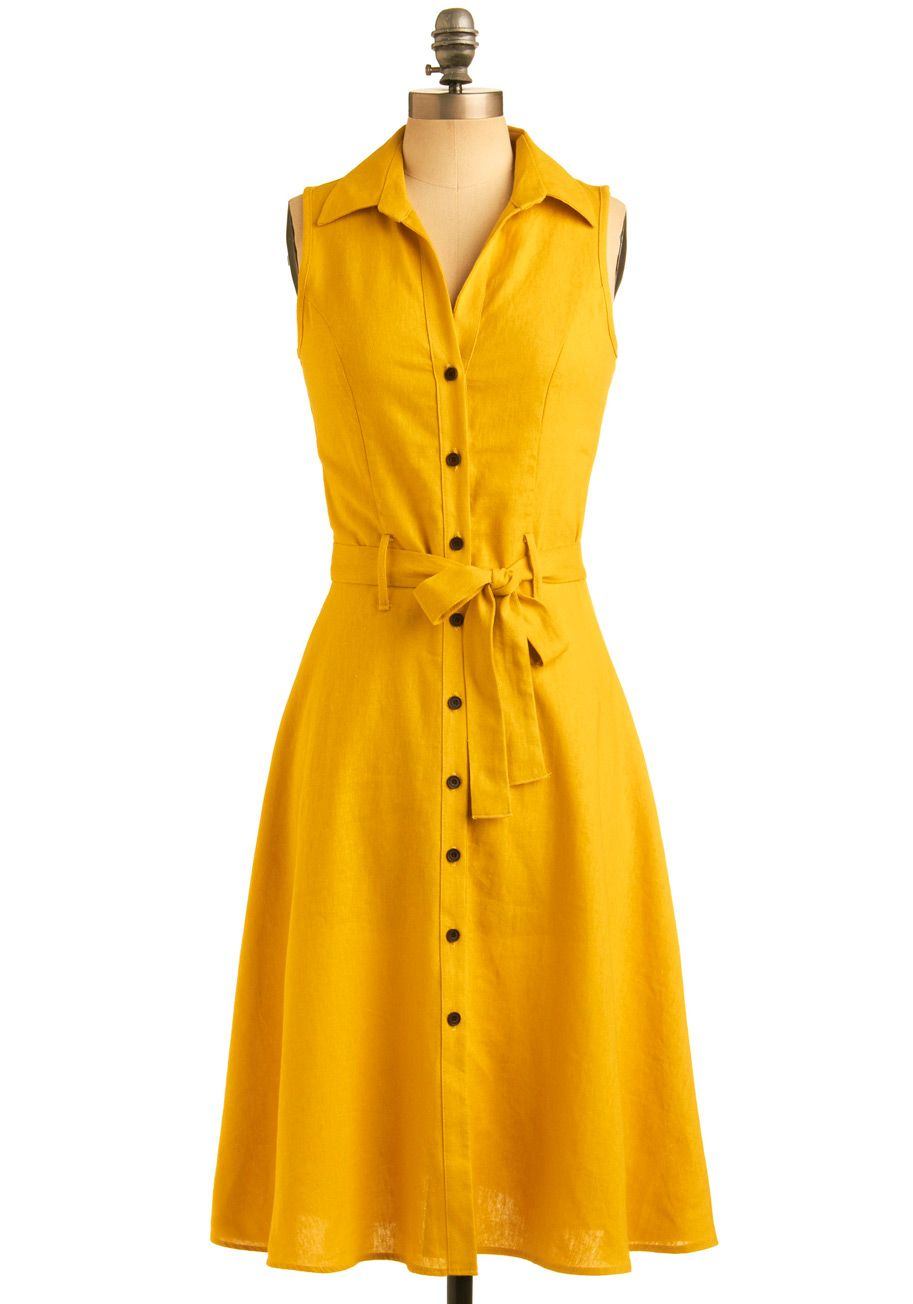 ModCloth's assortment of casual dresses is so astonishing, you might feel inclined to believe is all just a myth! Click through pages of casual day dresses to discover for yourself the sweet reality of .